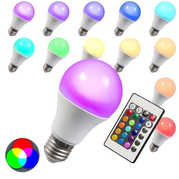 LED-pirn-RGB-E27-3W