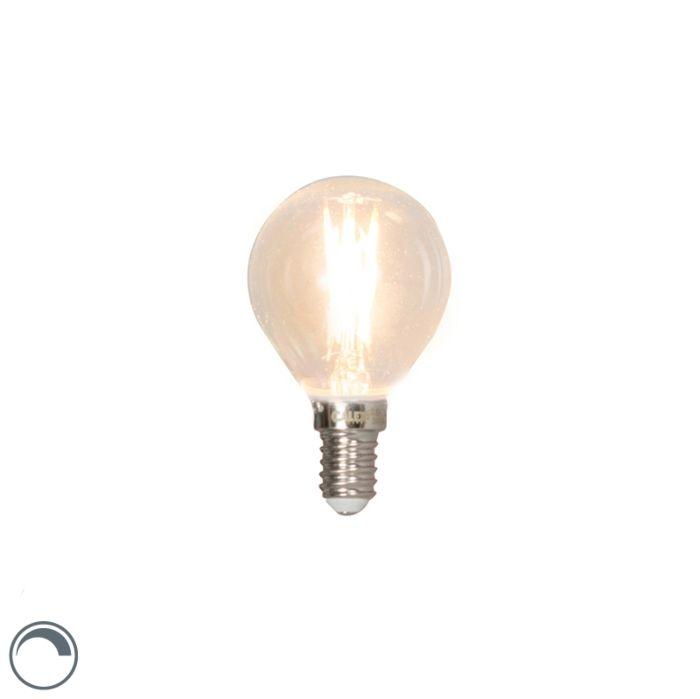 E14-reguleeritav-LED-hõõgniidiga-kuullamp-3W-350lm-2700K