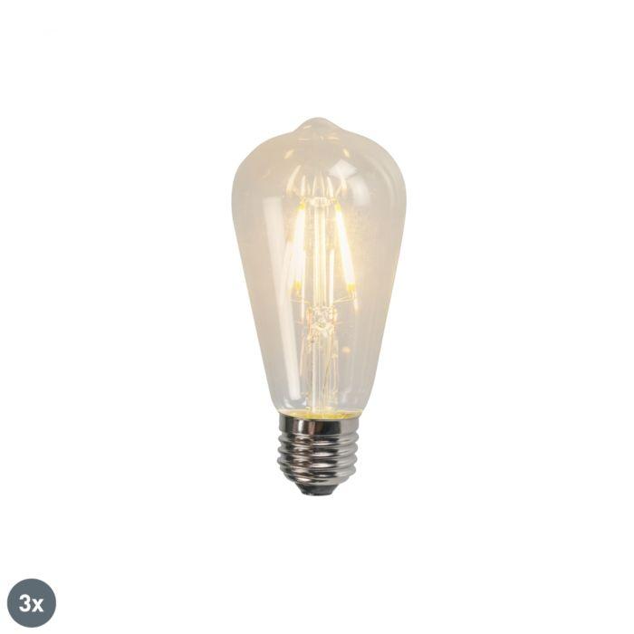 Komplektis-3-E27-LED-hõõglambi-ST64-4W-320lm-2700K