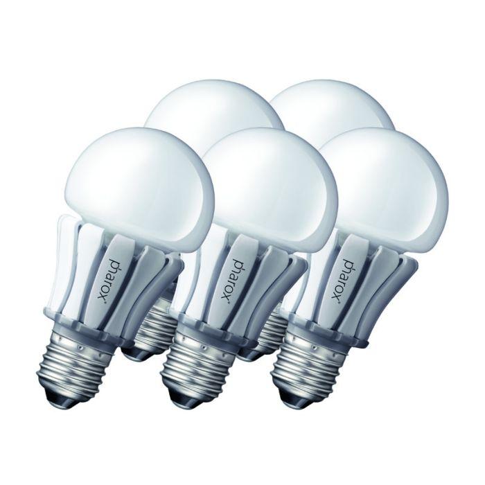 5-Pharoxi-LED-lambi-komplekt-400-E27-8W-230V
