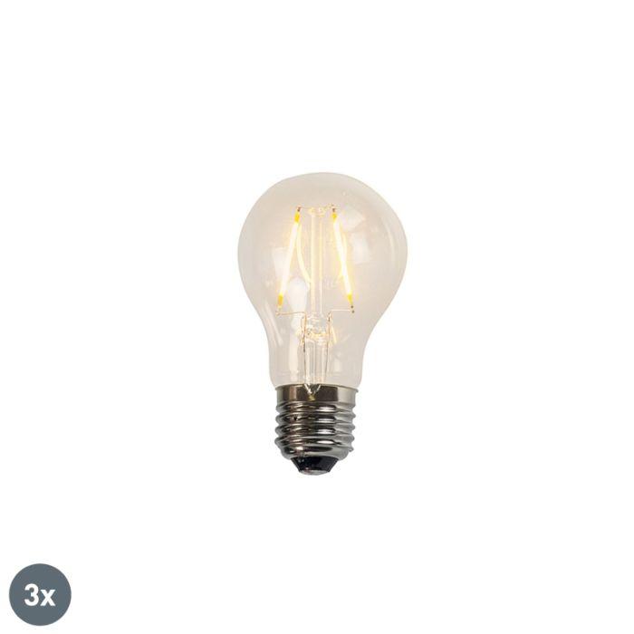 3-hõõglambi-LED-lampide-komplekt-A60-2W-2200K-selge