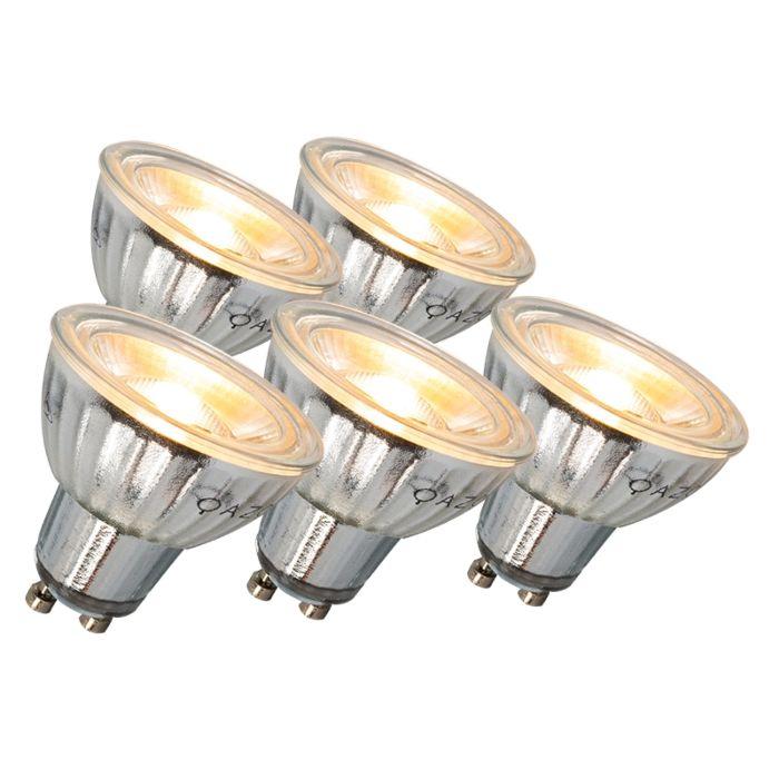 GU10-LED-lamp-7W-500LM-3000K-reguleeritav-komplekt-5-ga