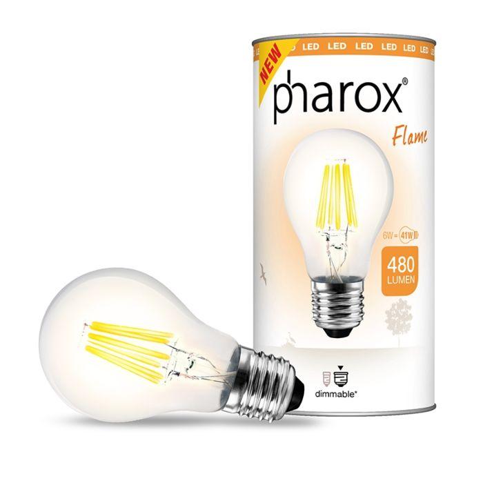 Pharoxi-LED-lamp-Flame-E27-6W-480-luumenit