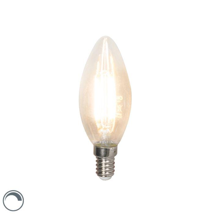 LED-hõõgküünla-lamp-E14-240V-3,5W-350lm-B35-hämardatav