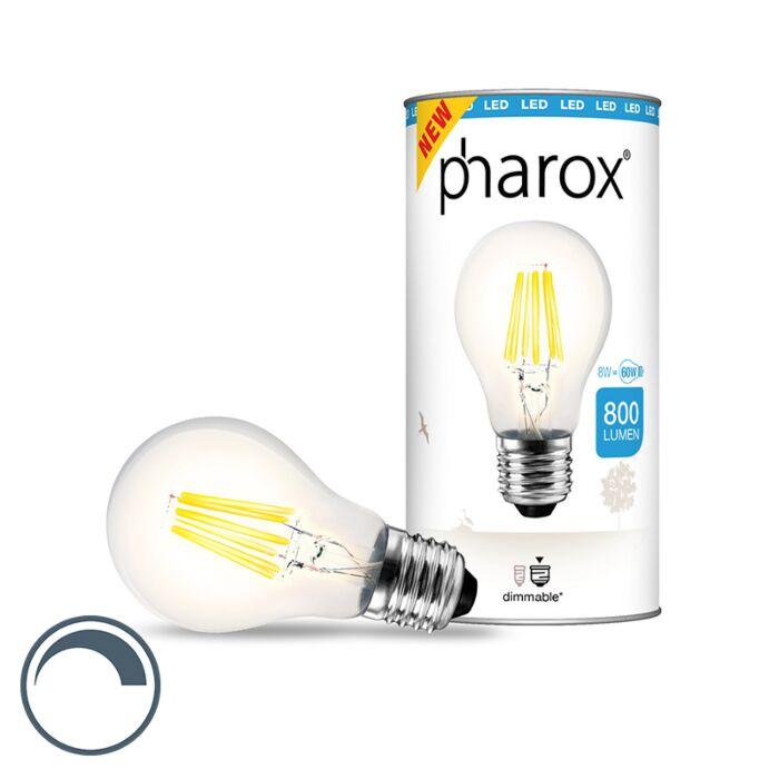 Pharoxi-LED-lamp-selge-E27-8W-800-luumenit