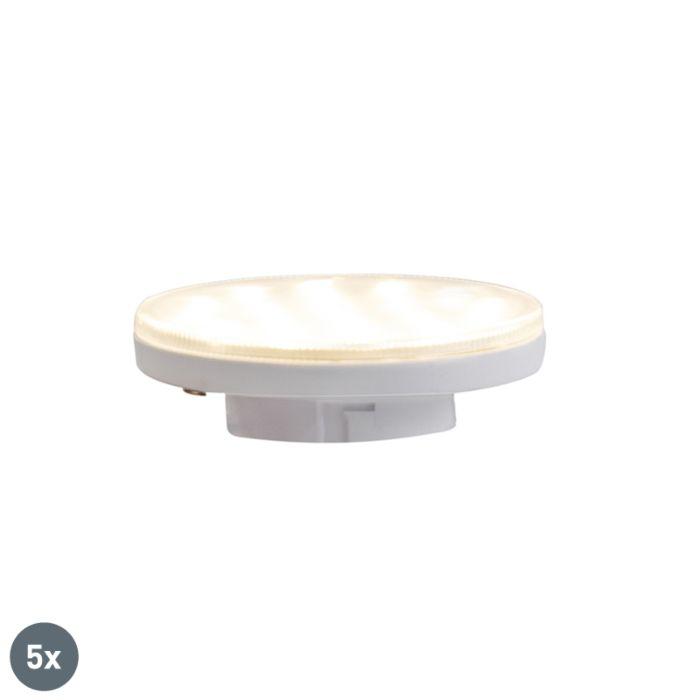 5-GX53-3-astmelist-hämardatavat-LED-lampi-3W-350-lm-3000K