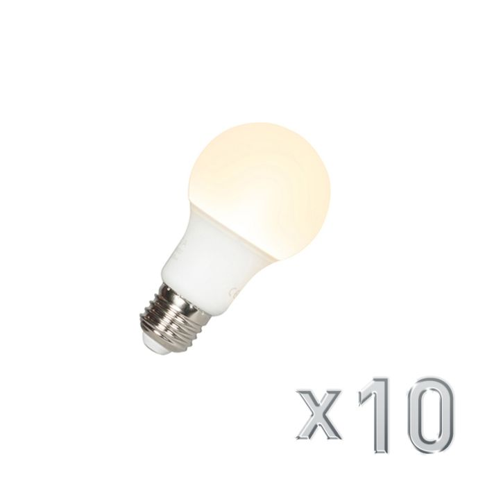 10-LED-lambi-komplekt-A60-E27-9W-3000K