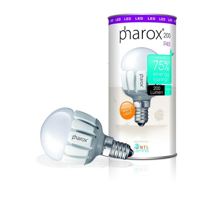 Pharox-LED-200-P45-E14-3.6W-230V