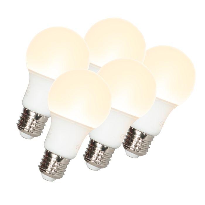 5-LED-lambi-komplekt-A60-E27-9W-3000K