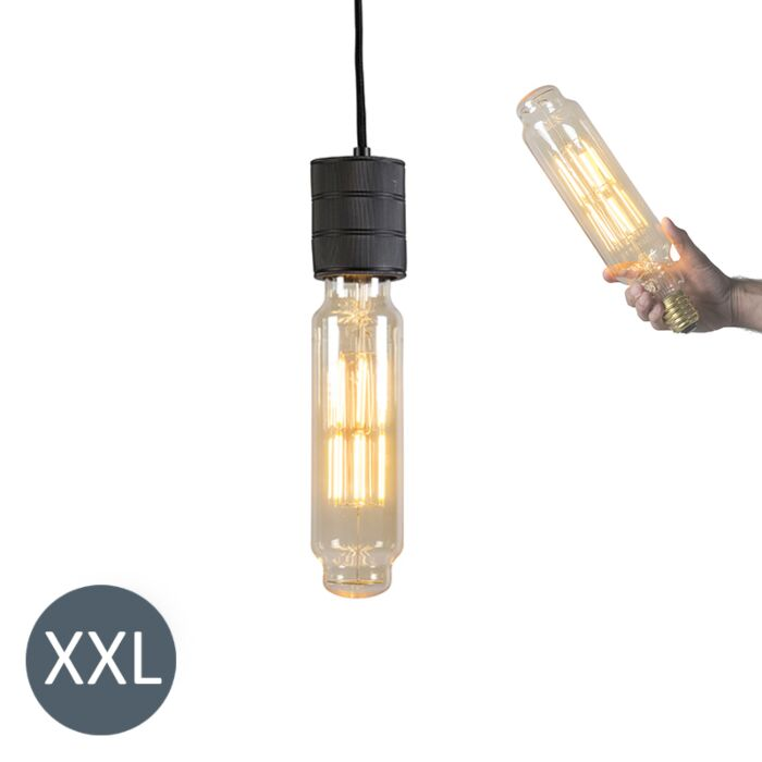 Rippvalgusti,-must,-reguleeritava-LED-lambiga