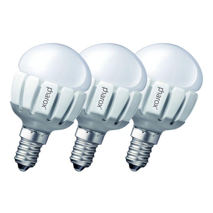 Komplekt-3-Pharox-LED-200-P45-E14-5W-230V
