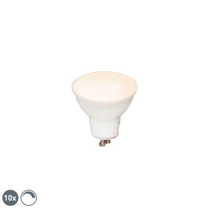 10-GU10-hämardatavat-LED-lampi-komplekt-6W-450-lm-2700K