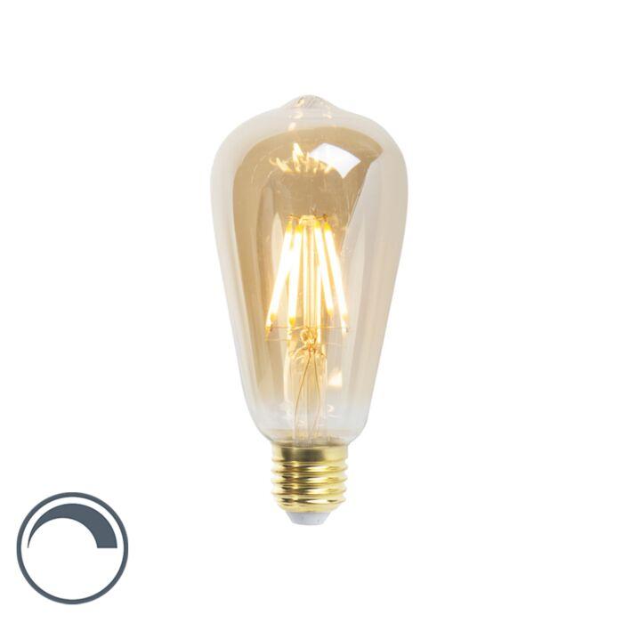 LED-hõõglamp-ST64-E27-5W-360-luumenit-2200K-hämardatav