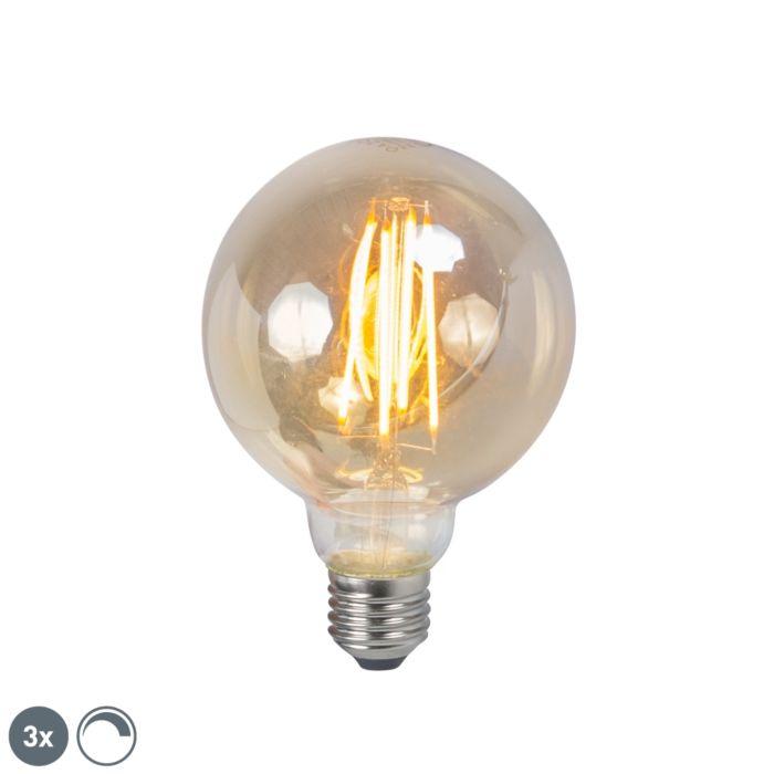 3-LED-hõõglambi-komplekt-E27-5W-2200K-G95-suitsetatav
