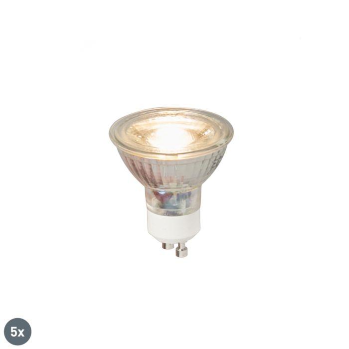 5-GU10-LED-lambi-komplekt-COB-5W-380LM-3000K