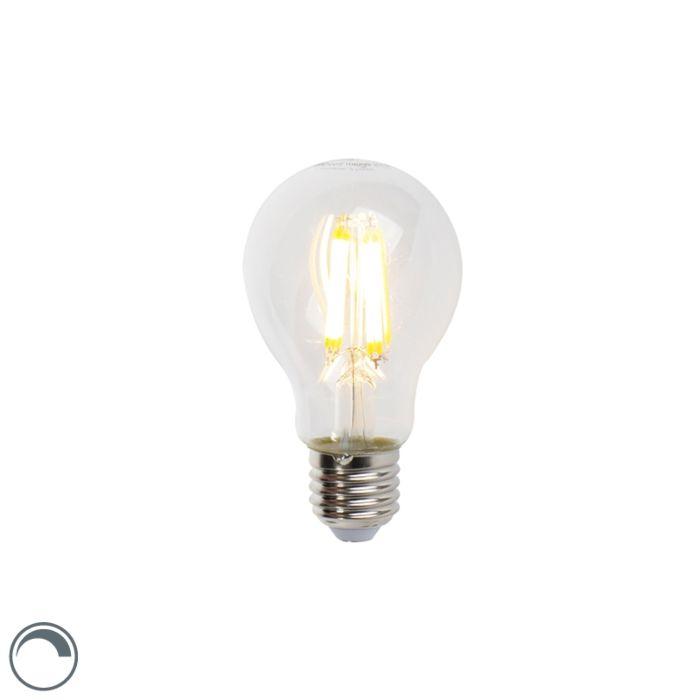 LED-hõõglamp-E27-7W-806lm-A60-reguleeritav-läbipaistev