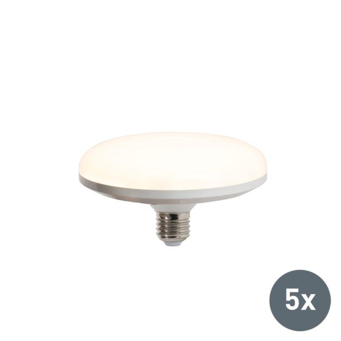 5-LED-lambi-komplekt-UFO-E27-18W-soe-valge