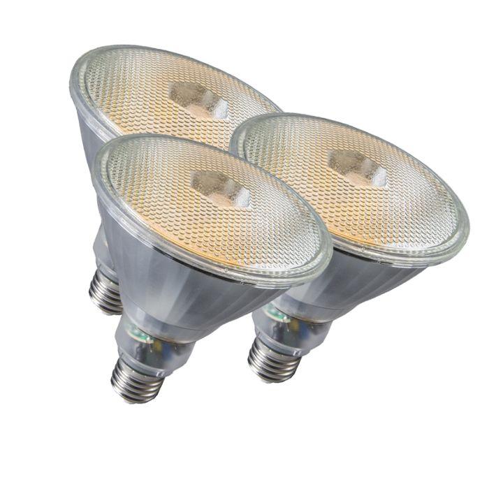 3-lambiga-komplekt-Par38-E27-20W-800LM-2700K