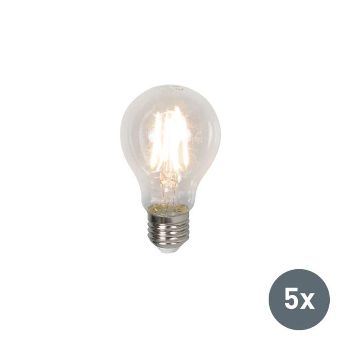 5-LED-pirni-komplekt-E27-4W-400-luumenit-soe-valge