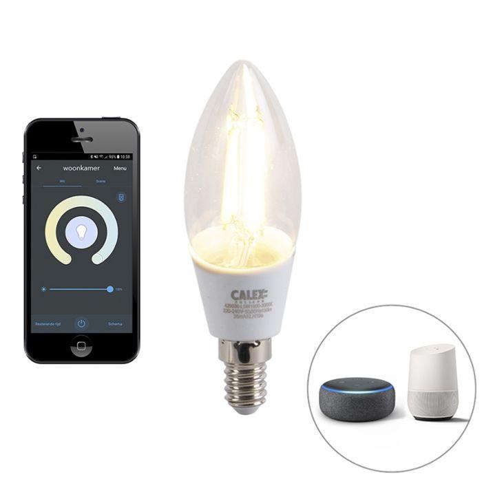 Nutikas-E14-reguleeritav-LED-lamp-koos-rakendusega-4,5W-450-lm-1800-3000K