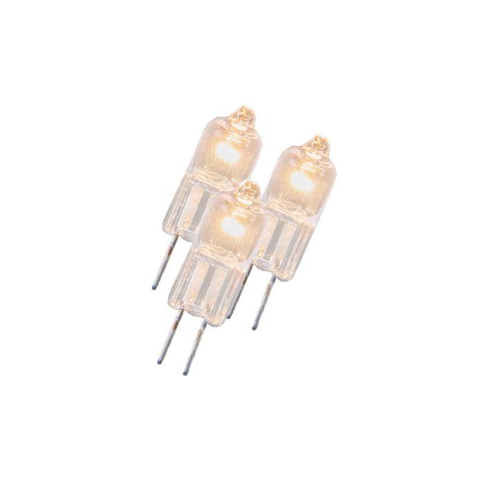 Komplektis-3-halogeenlampi-G4-5W-12V-selge