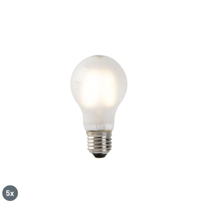 5-E27-LED-hõõglampide-komplekt-mattklaas-A60-2W-180-lm-2700K
