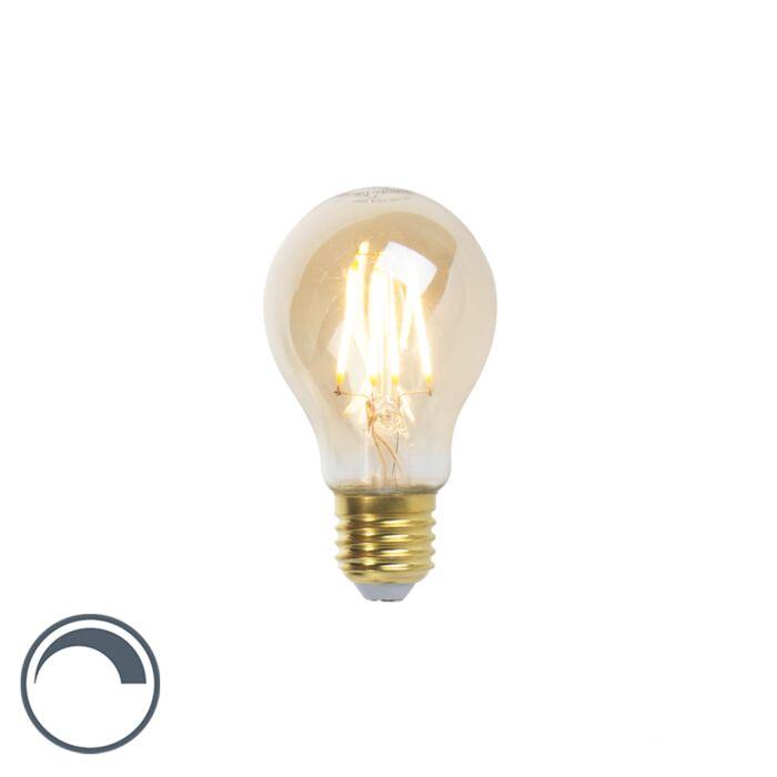 LED-Goldline-hõõglamp-E27-5W-360lm-A60-hämardatav