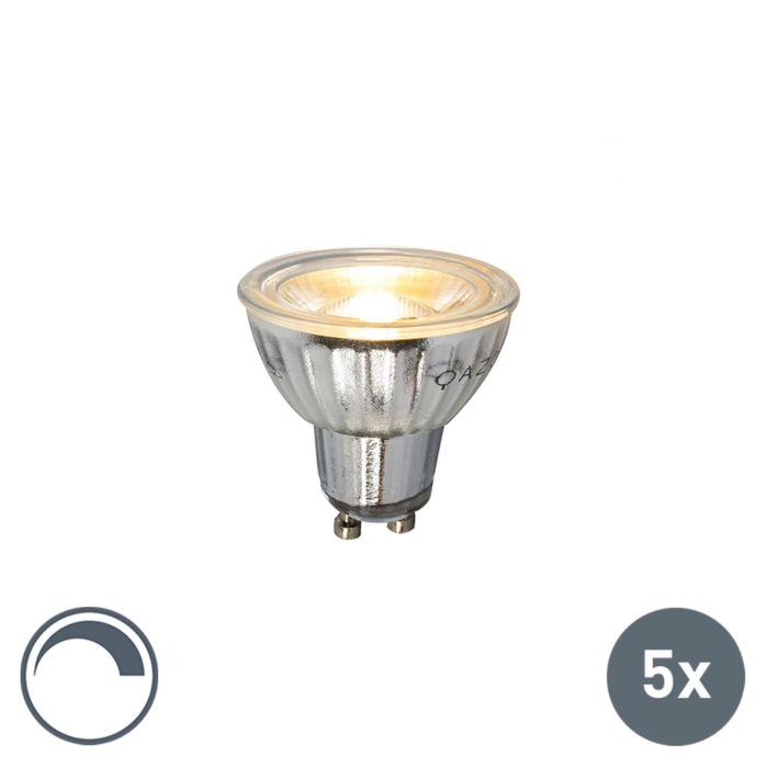 5-GU10-LED-lampi-komplekt-230V-5W-380LM-2700K-hämardatav