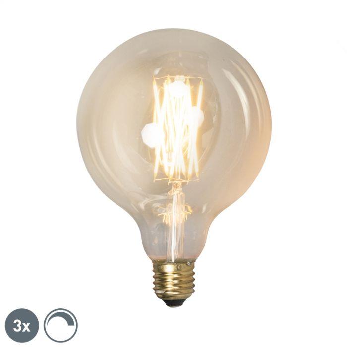 Komplektis-on-3-E27-reguleeritavat-LED-lampi-G125-goldline-320lm-2100-K.
