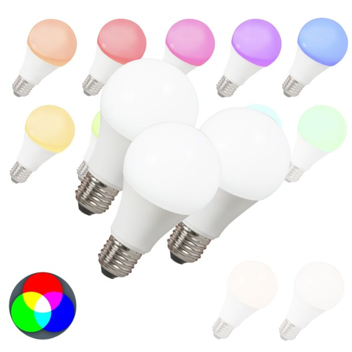 3-LED-pirni-komplekt-E27-240V-7W-500lm-A60-Smart-Light