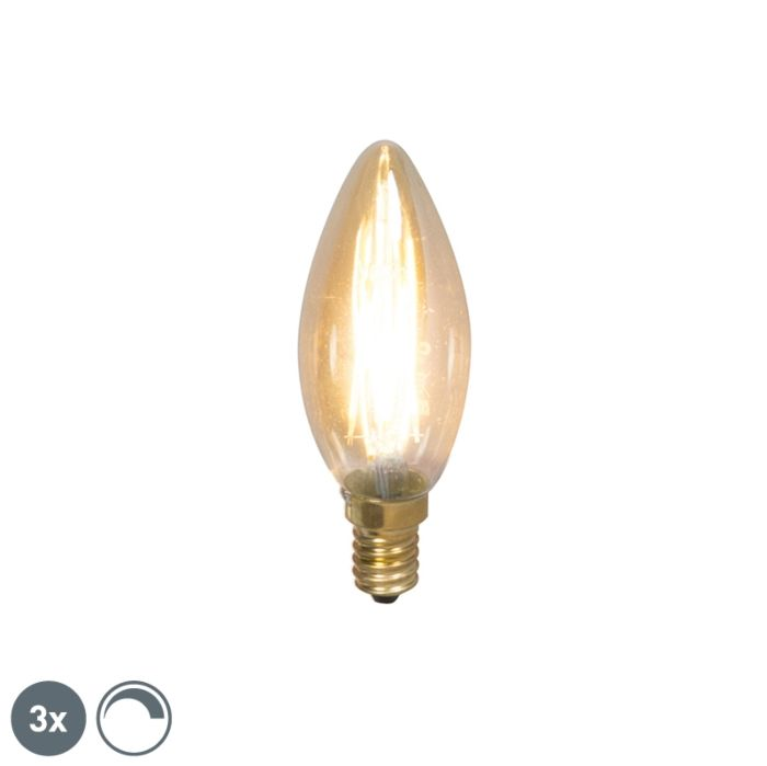 Komplektis-on-3-E14-hämardatavat-LED-hõõgküünla-lampi-200lm-2100-K.