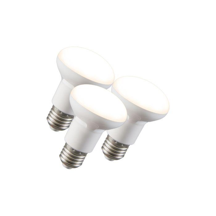 3-LED-helkurlampide-komplekt-R63-E27-240V-8W-2700K-hämardatav