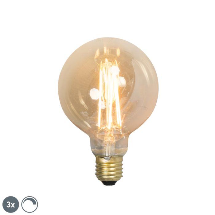 Komplektis-3-E27-hämardatavat-LED-hõõglampi-G95-goldline-2100K