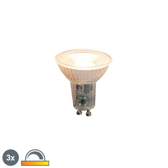 3-GU10-hämardatavat-LED-lampi-komplekt-5,5W-360lm-2000K---2700K