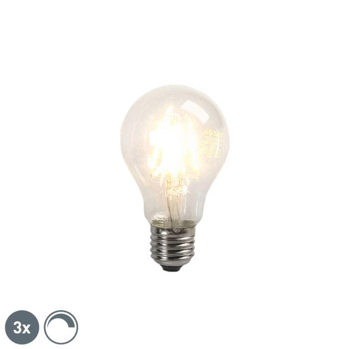 3-LED-hõõgniidiga-lambipirni-komplekt-E27-4W-390lm-hämardatav