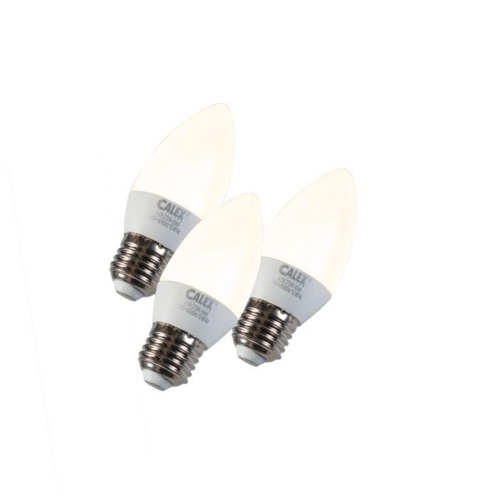 Komplekt-3-küünlavalgusti-LED-E27-5W-240V-2700K-hämardatav