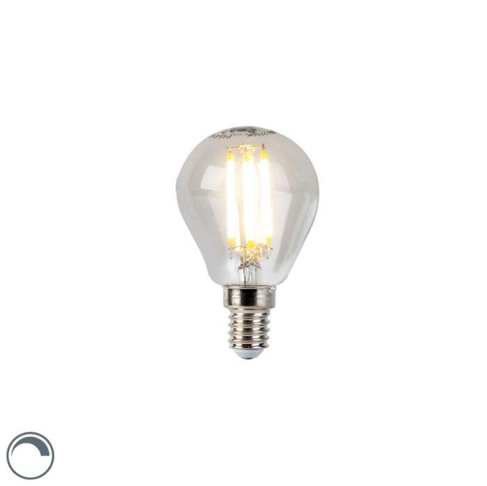 LED-hõõgniidiga-kuullamp-E14-5W-470lm-P45-hämardatav