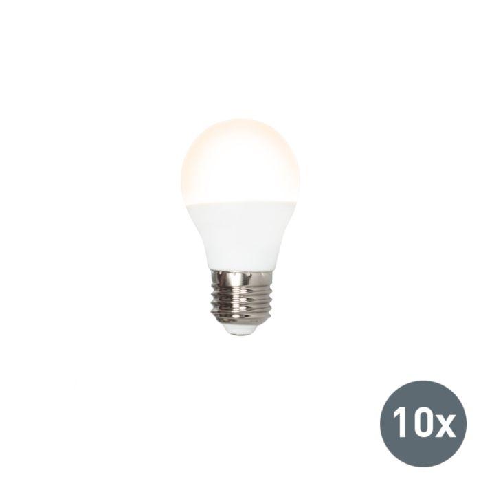 10-LED-lambi-komplekt-P45-E27-3W-3000K