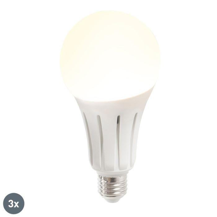 Komplektis-3-LED-lampi-B60-18W-E27-soe-valge