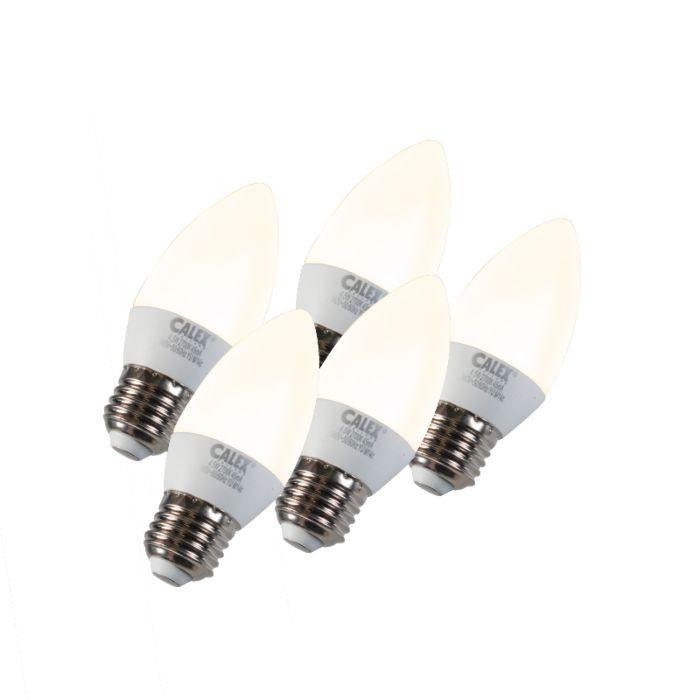 5-küünlavalgusti-komplekt-LED-E27-5W-240V-2700K-hämardatav