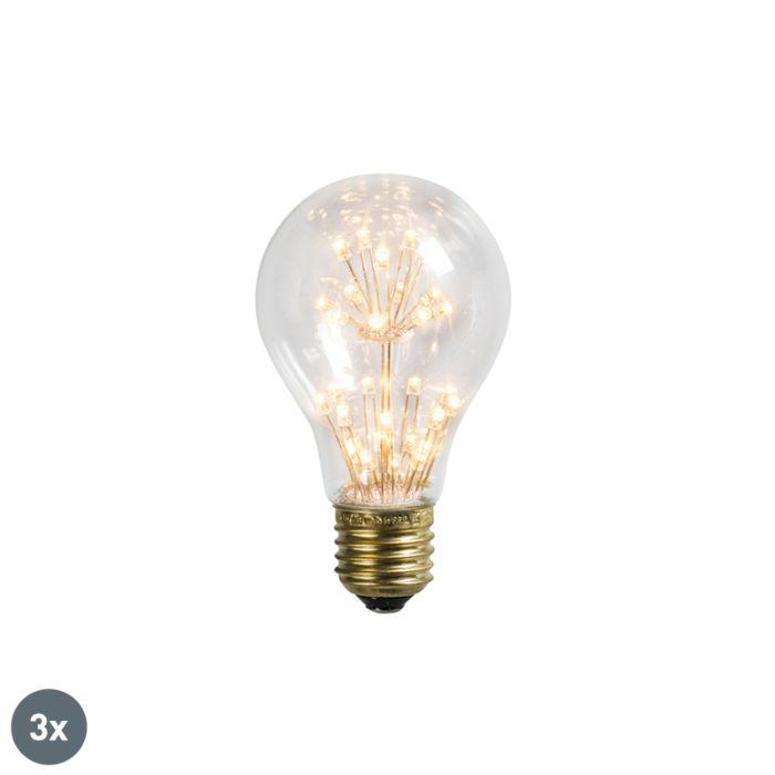 Komplektis-3-LED-lampi-E27-1,5W-/-136LM
