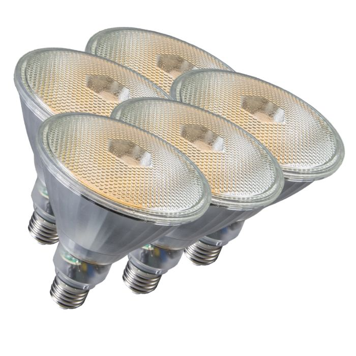 5-lambiga-komplekt-Par38-E27-20W-800LM-2700K