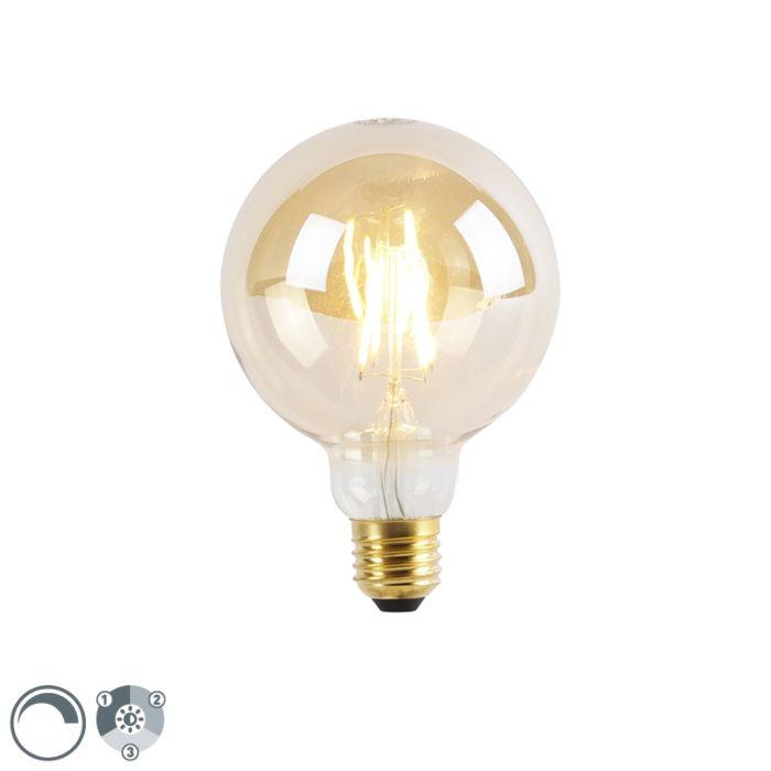 E27-3-astmeline-hämardatav-LED-lamp-G95-Goldline-5W-360lm-2200K