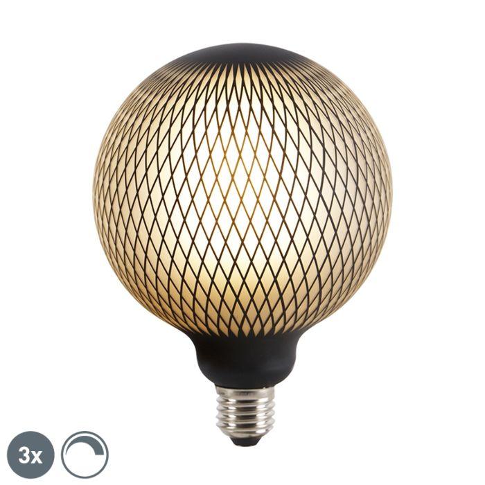 Komplektis-on-3-E27-hämardatavat-LED-gloobuslampi-DECO-4W-180-lm-2700K