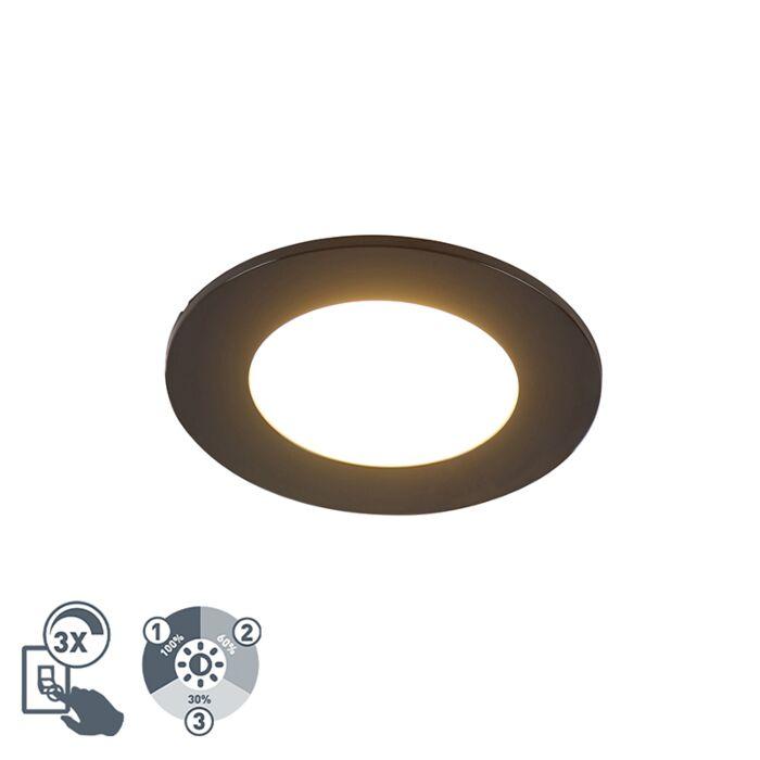 Kaasaegne-süvistatud-täppmust-koos-LED-3-astmelise-hämardatava-IP65---Blanca