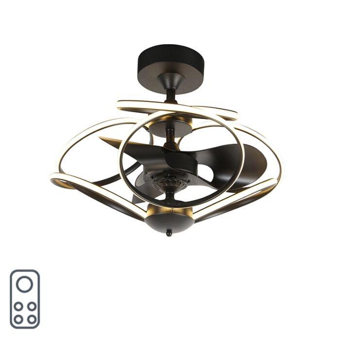 Disainiga-laeventilaator-must-puldiga-koos-LED-ga---Kauv