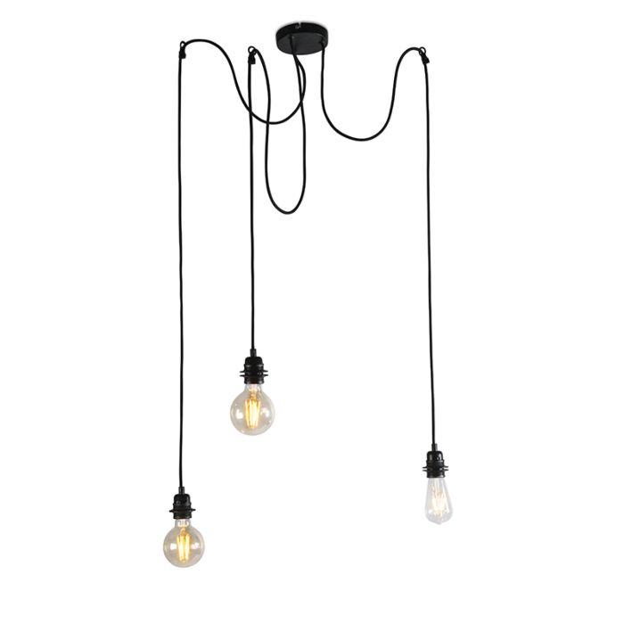Tööstuslik-riputuslamp-must---Cava-3