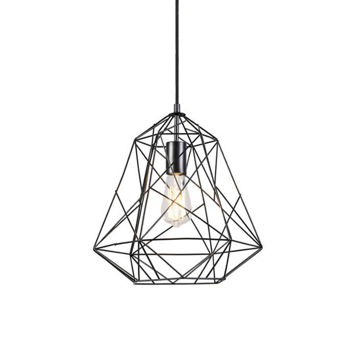 Tööstuslik-riputuslamp-must---Framework-Basic