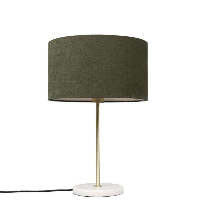 Rohelise-varjundiga-messingist-laualamp-35-cm---Kaso
