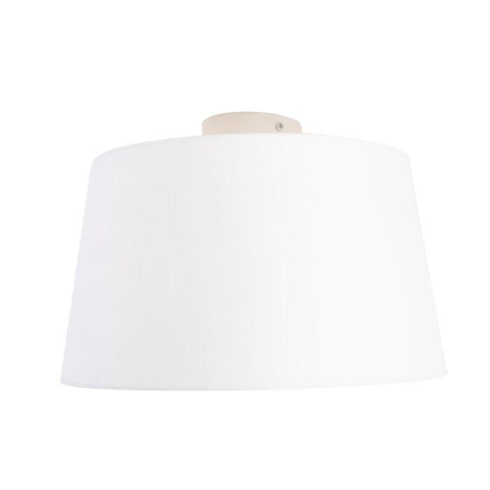 Laelamp-linase-varjundiga-valge-35-cm---kombivalge